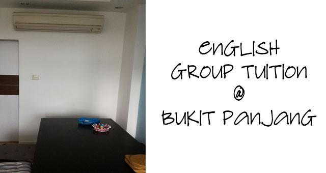 English Group Tuition @ Bukit Panjang (Segar)