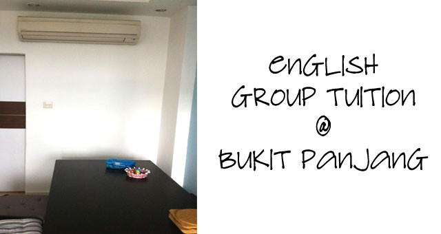 English Group Tuition @ Bukit Panjang (Segar)