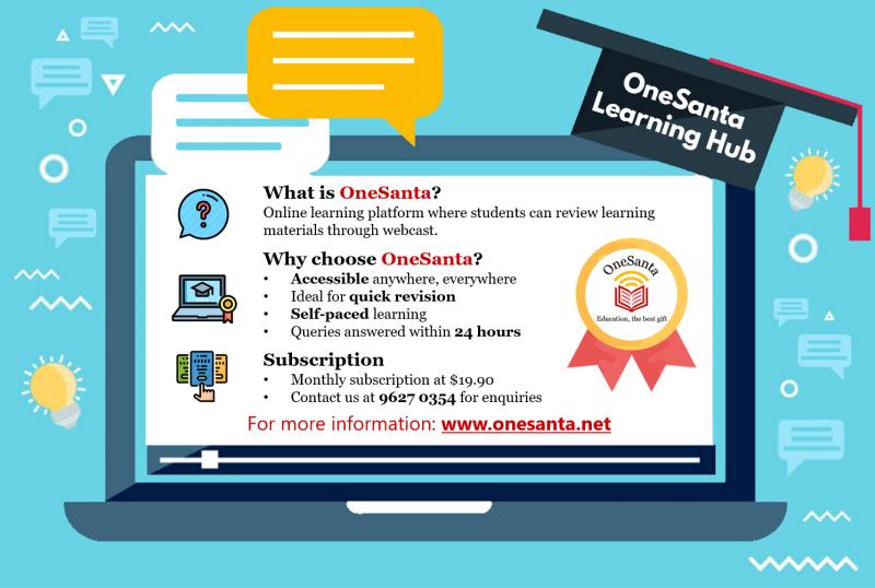 OneSanta's Online Enrichment Programme