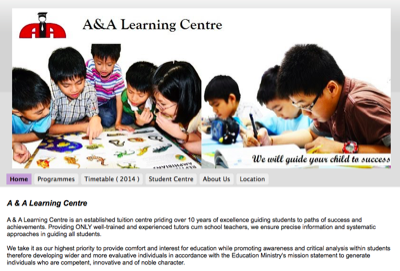 A & A Learning Centre