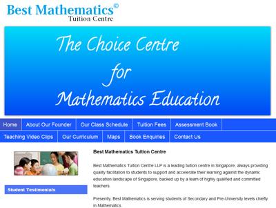 Best Mathematics Tuition Centre