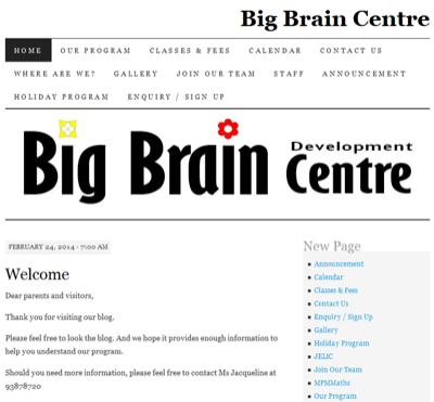 Big Brain Development Centre