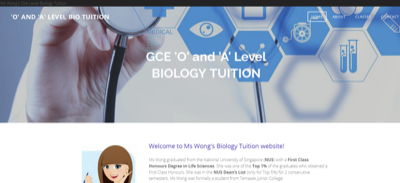 Biology Tuition Singaopore