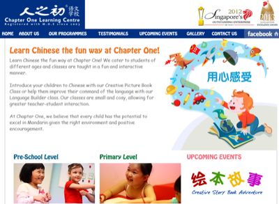 Chapter One Learning Centre