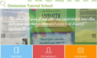 Distinction Tutorial School
