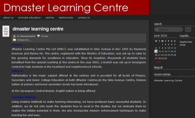 dMaster Learning Centre