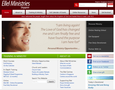 Ellel Ministries Singapore-Zion Healing Centre Limited