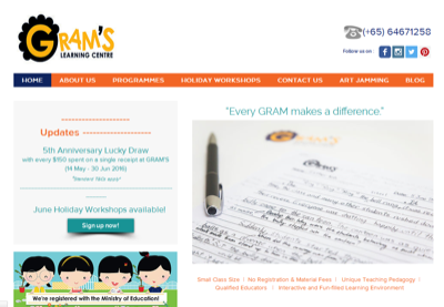 GRAM's Learning Centre