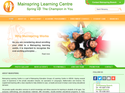 Mainspring Learning Centre