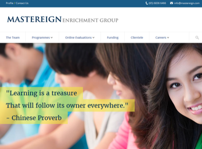 Mastereign Chinese Language & Cultural Center Pte Ltd
