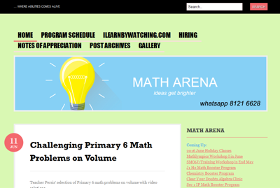 Math Arena Enrichment Centre