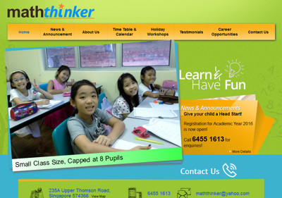 Math Thinker Education Hub