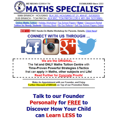 Maths Specialist