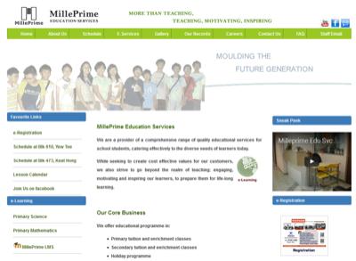 Milleprime Education Services