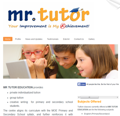 Mr Tutor Education