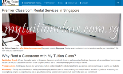 My Classroom Tuition Services