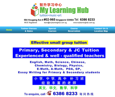 My Learning Hub