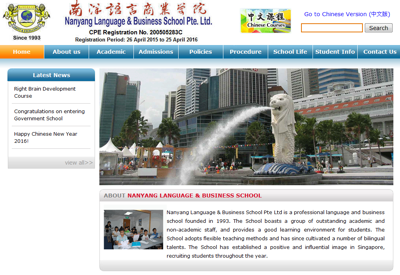Nanyang Language & Business School Pte Ltd