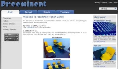 Preeminent Tuition Centre