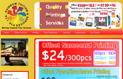Rainbow Tuition & Services Pte Ltd
