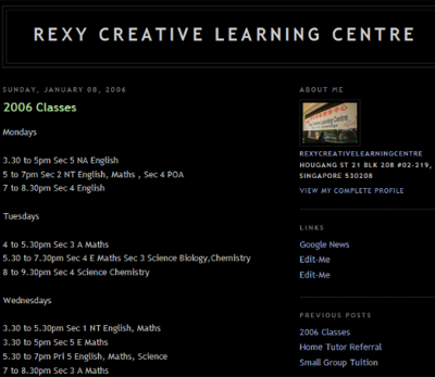 Rexy Creative Learning Centre