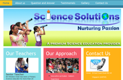 Science Solutions Pte Ltd