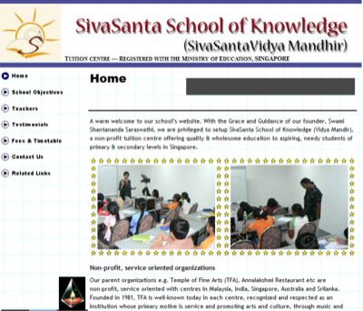 Sivasanta School of Knowledge