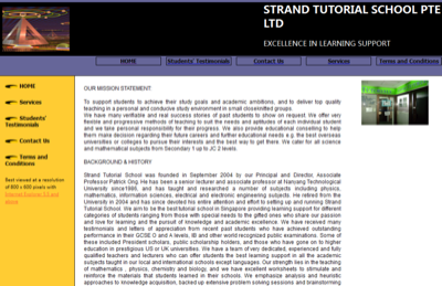 Strand Tutorial School