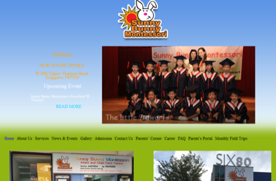 Sunny Bunny Montessori Integrated Learning Hub