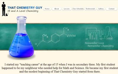 That Chemistry Guy