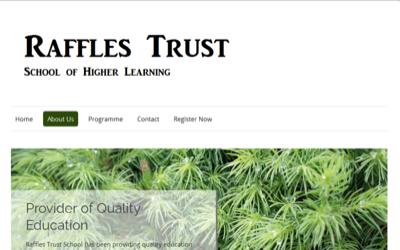 The Raffles Trust School of Higher Learning