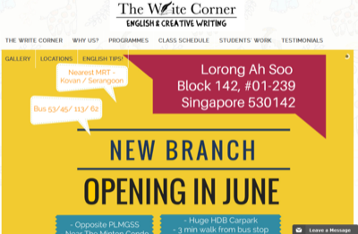 The Write Corner