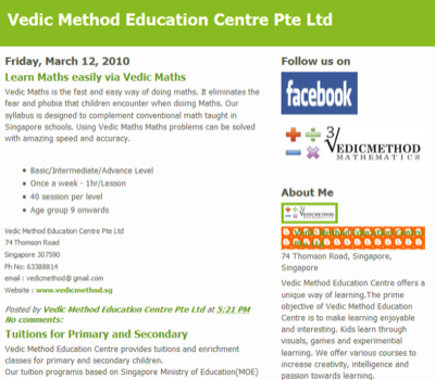 Vedic Method Education Centre