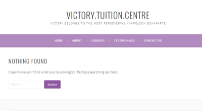 Victory Tuition Centre