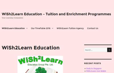 Wish2Learn Education