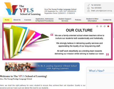 Young Prodigy Learning Centre Pte Ltd